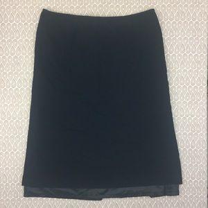 Pendleton Women's Black Pencil Skirt Size 22W D41